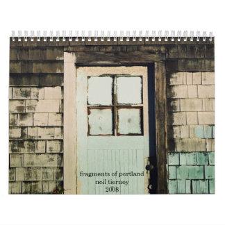 fragmentos de Portland Calendario