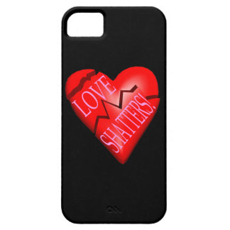 Fragmentos del amor iPhone 5 carcasas