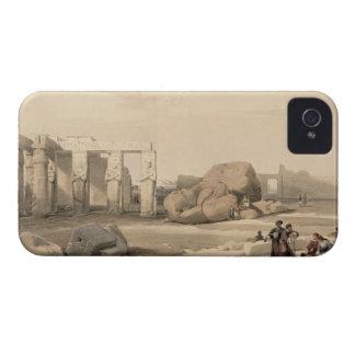 Fragmentos del gran coloso en el Memnonium, iPhone 4 Case-Mate Carcasa
