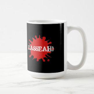 Fragmentos: ¡Taza de café oficial de YASSEAH! Taza Clásica