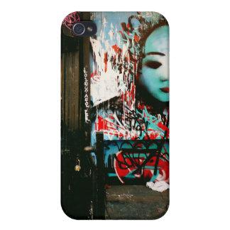 Fragmentos urbanos - arte de la calle - New York C iPhone 4 Carcasa