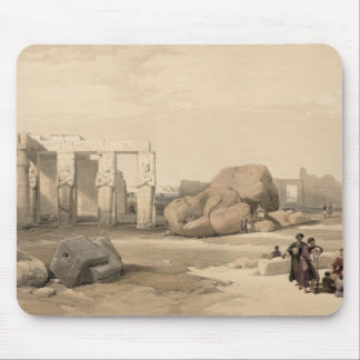 Fragments of the Great Colossus at The Memnonium, Mousepad