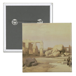Fragments of the Great Colossus 2 Inch Square Button