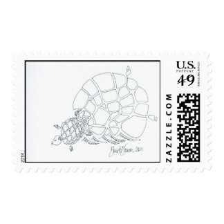 Fragments of Tortoise Postage Stamps