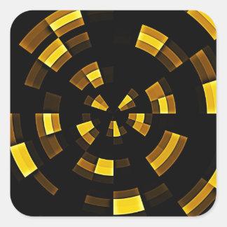 Fragments Square Sticker