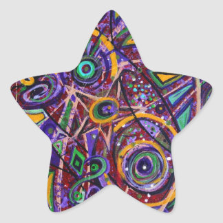 Fragments Star Sticker