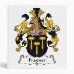 Fragner Family Crest 3 Ring Binders