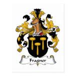 Fragner Family Crest Post Cards