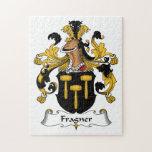 Fragner Family Crest Puzzle