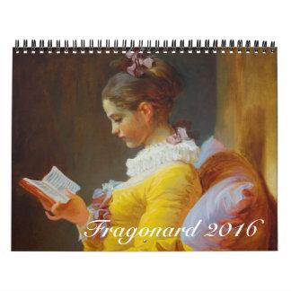 Fragonard 2016 calendar