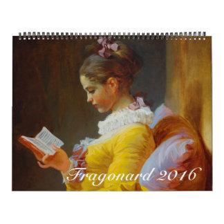 Fragonard 2016 Huge Calendar