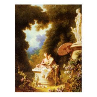 Fragonard Art Postcard