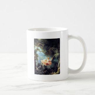 Fragonard The Swing antique fine art painting Mug