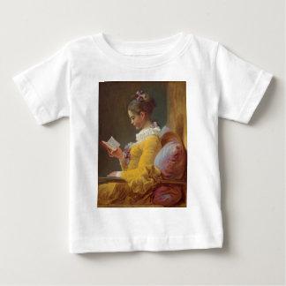 Fragonard's Young Girl Reading Baby T-Shirt