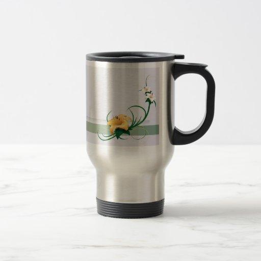 Fragrance of Spring 15 Oz Stainless Steel Travel Mug