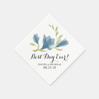 Fragrant Freesia Petals   Best Day Ever! Napkin