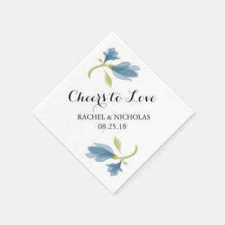 Fragrant Freesia Petals   Cheers to Love Napkin