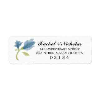 Fragrant Freesia Petals | Return Address Label