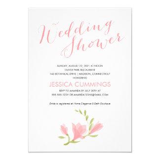 Fragrant Freesia Petals | Wedding Bridal Shower 5x7 Paper Invitation Card
