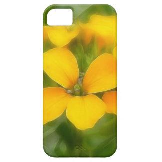 Fragrant Orange Cheiranthus iPhone SE/5/5s Case