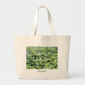 Fragrant Oregano Large Tote Bag