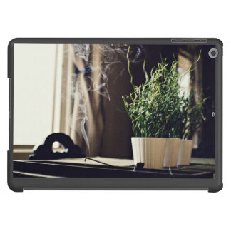 Fragrant Themed, Smoky Room Fragrant Incense Set A iPad Air Cover