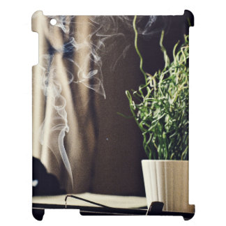 Fragrant Themed, Smoky Room Fragrant Incense Set A iPad Covers