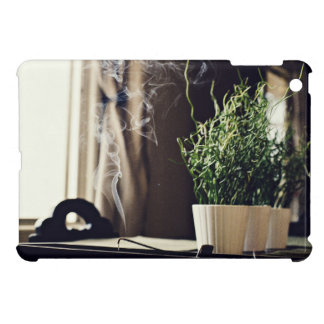 Fragrant Themed, Smoky Room Fragrant Incense Set A iPad Mini Covers