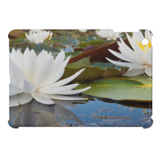 Fragrant Water Lily (Nymphaea Odorata) On Caddo iPad Mini Covers