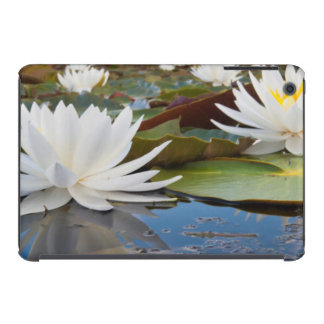 Fragrant Water Lily (Nymphaea Odorata) On Caddo iPad Mini Retina Cover