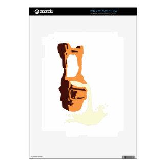 Fragua del hierro calcomanías para iPad 2