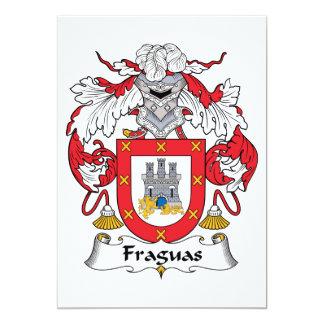 Fraguas Family Crest Invite