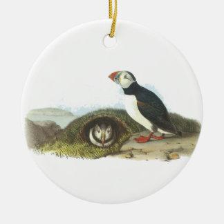 Frailecillo atlántico Juan Audubon Ornamento Para Reyes Magos