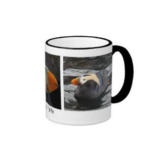 Frailecillo copetudo lindo taza