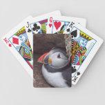Frailecillo de la jerarquización baraja de cartas