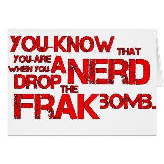 Frak Bomb Card