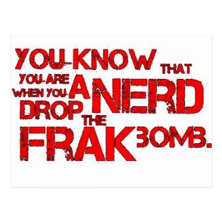 Frak Bomb Postcard