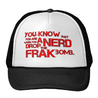 Frak Bomb Trucker Hat