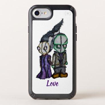 Halloween Themed FrakenBride Love Speck iPhone Case