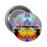 Fraktal009 - AMO FRACTALES Pin Redondo 5 Cm