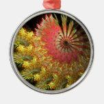 Fraktal spiral ornaments