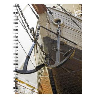Fram la nave usada por el explorador polar Nansen Libros De Apuntes Con Espiral