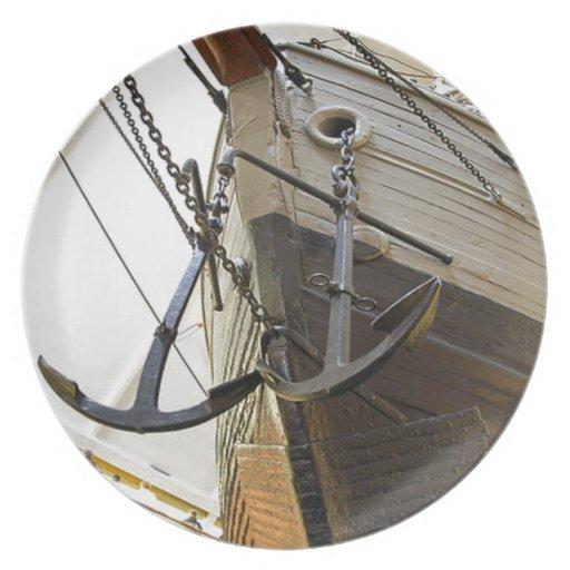 Fram, la nave usada por el explorador polar Nansen Platos