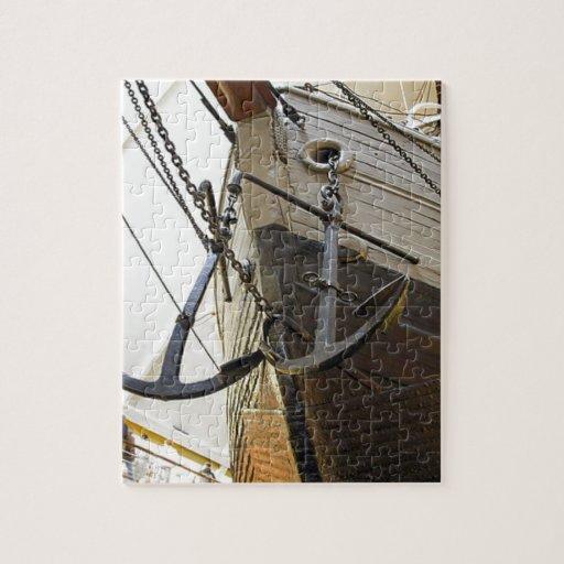 Fram, la nave usada por el explorador polar Nansen Rompecabeza Con Fotos