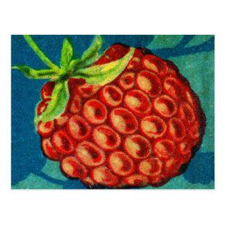 Frambuesa de Framboos del holandés de la fruta del Tarjeta Postal