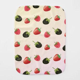 Frambuesa, fresa, Blackberry: fruta del verano Paños De Bebé