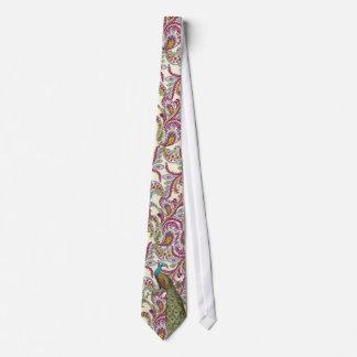 Frambuesa Paisley Corbata Personalizada