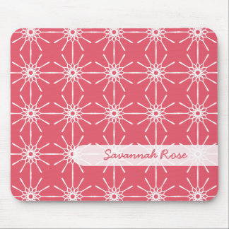 Frambuesa Starburst personalizado rosa Mousepad