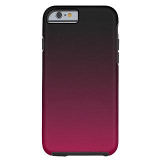 Frambuesa y regaliz Ombre Funda De iPhone 6 Tough