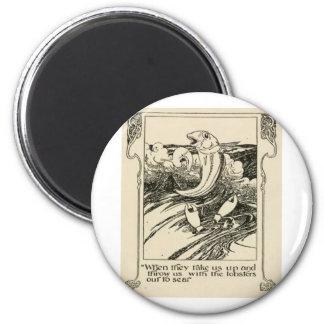 Frame13 2 Inch Round Magnet